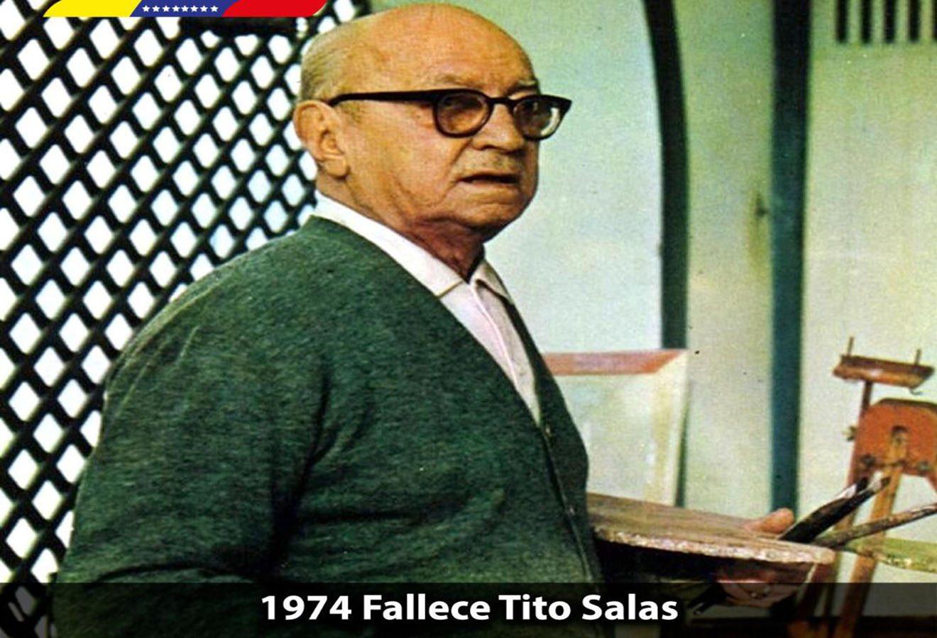 8de2220ab3 Hoy se cumplen 45 años de la siembra del maestro y artista plástico Tito  Salas