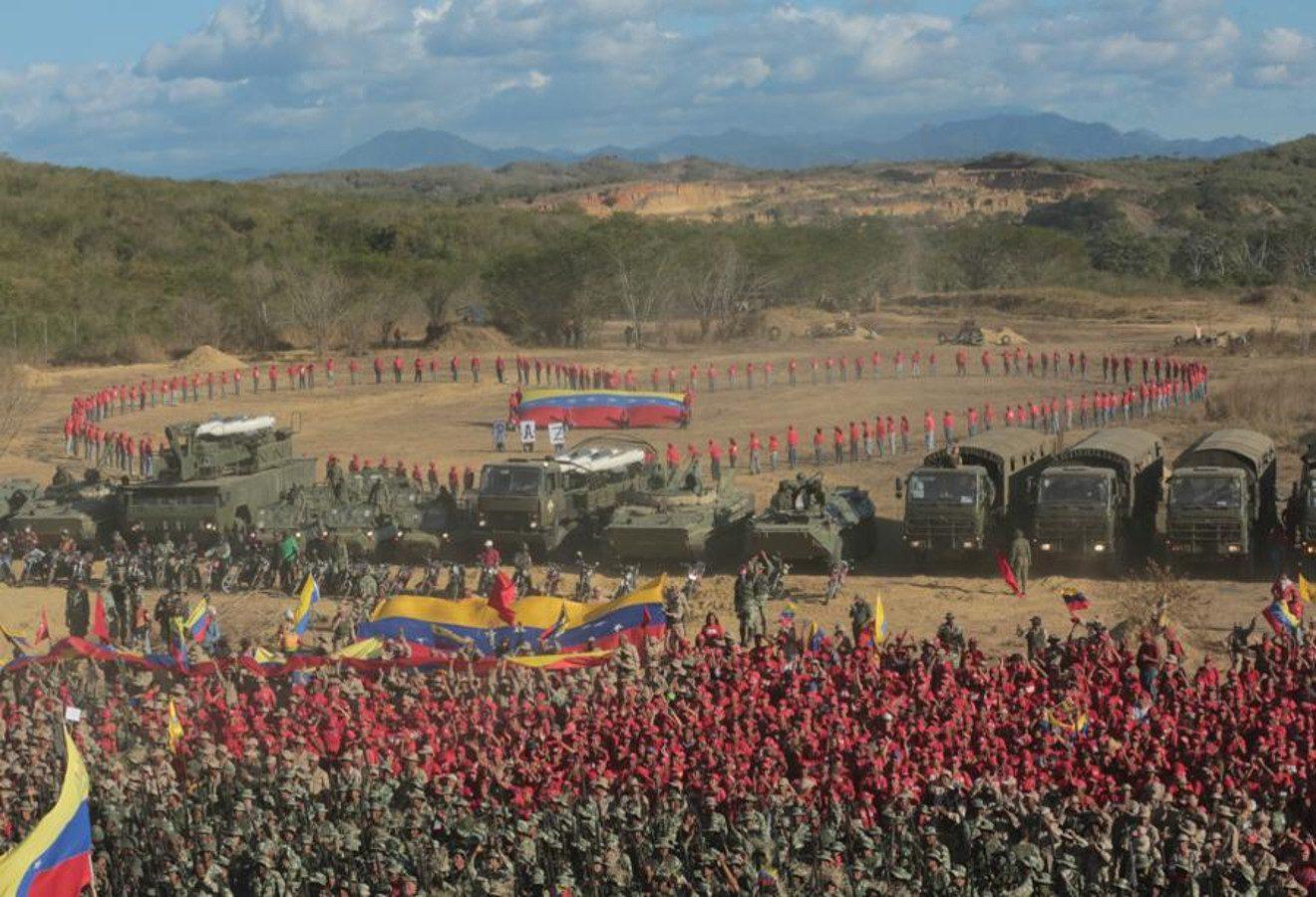 Inician Ejercicios de Acción Integral 'Ana Karina Rote — Presidente Maduro
