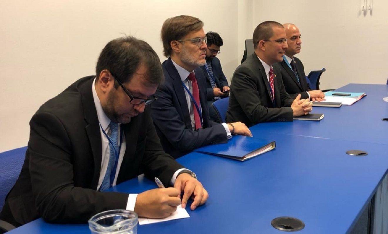 Jorge Arreaza sufre boicot durante encuentro de la ONU en Viena