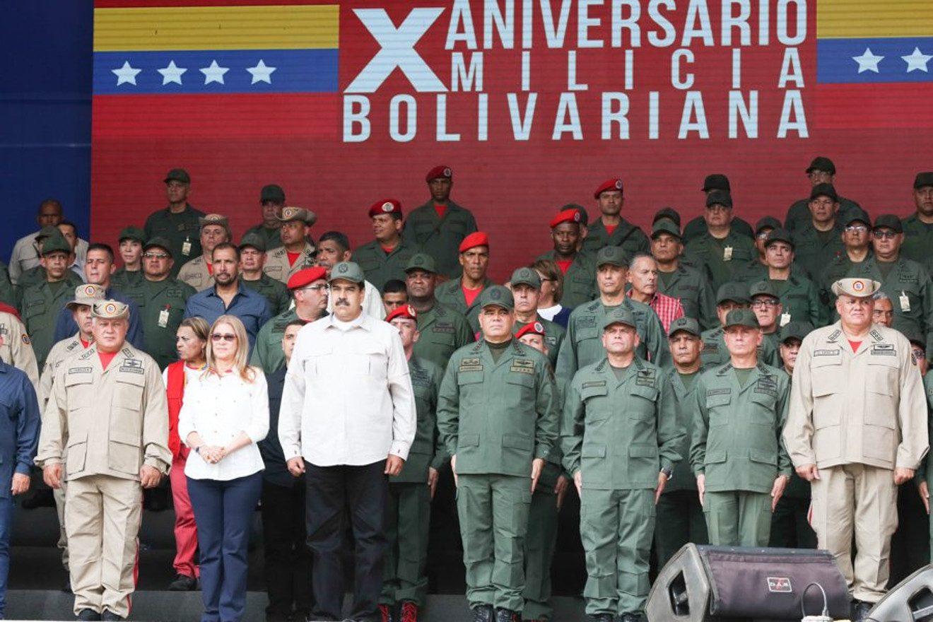 La unión cívico-militar lleva las riendas de la Patria — Presidente Maduro
