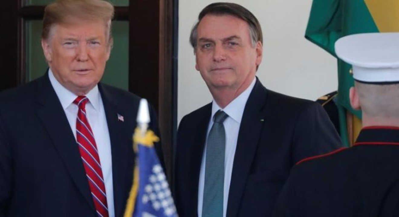 Trump presiona para que Brasil sea aliado preferente fuera de la OTAN