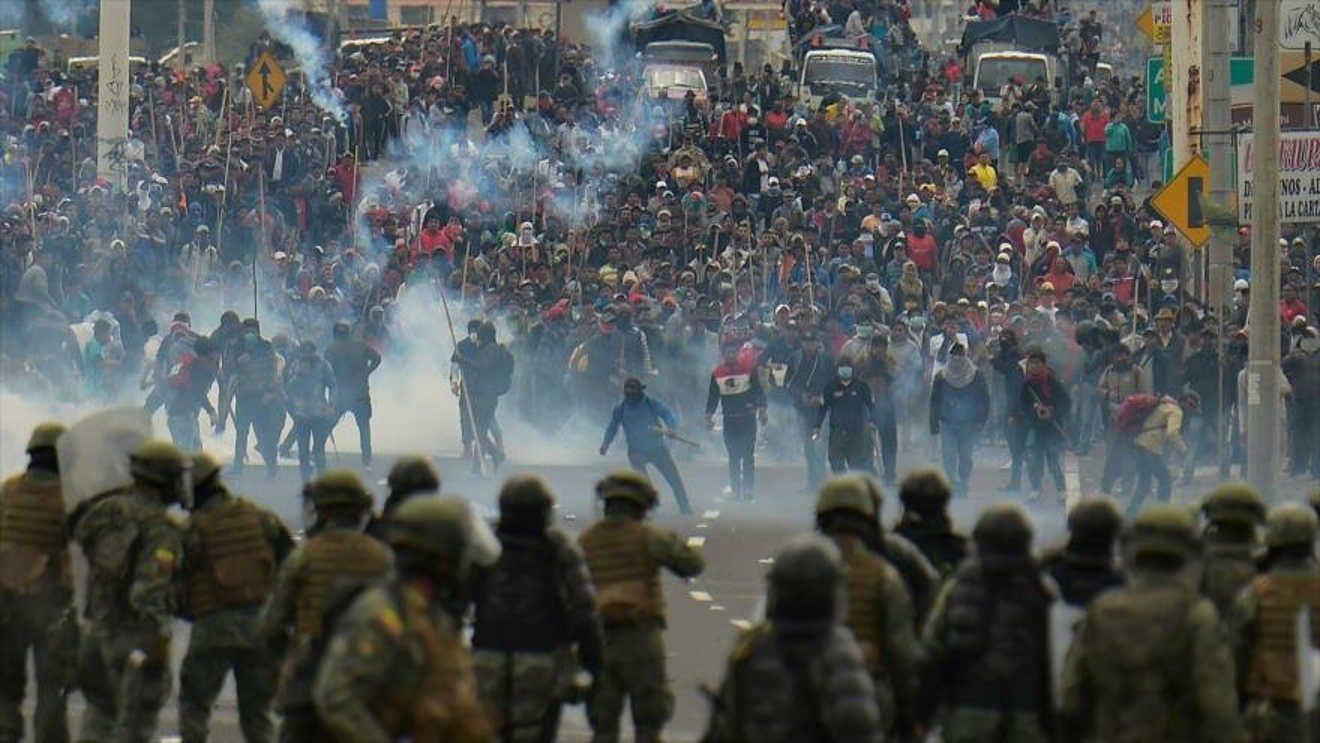 Image result for ecuador fin de las protestas