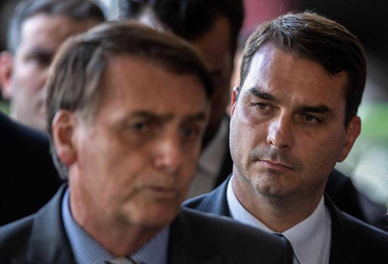 Hijo de Bolsonaro niega acusaciones de corrupción y denuncia