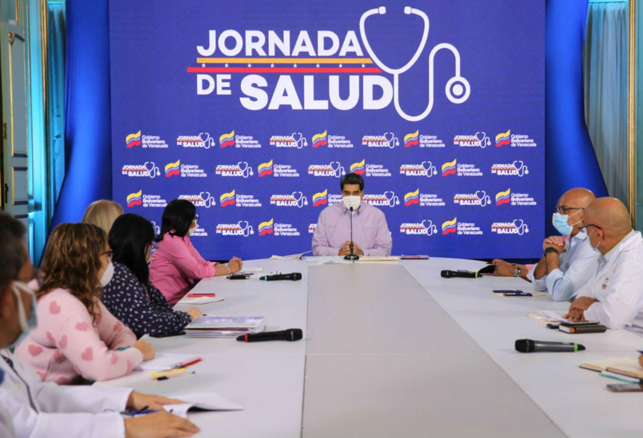 Nicolas Maduro-covid-Venezuela