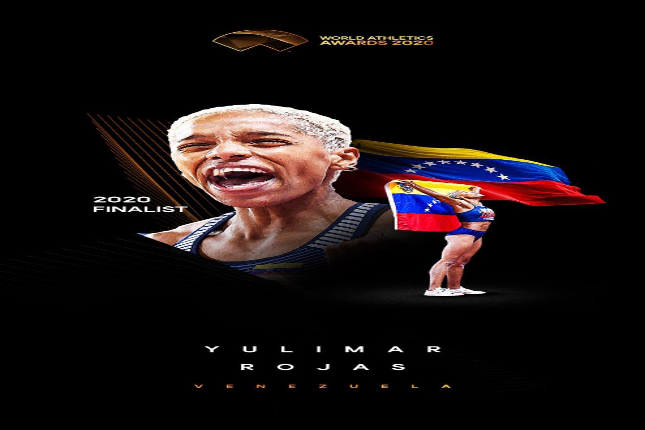 Yulimar Rojas es finalista a mejor atleta del año